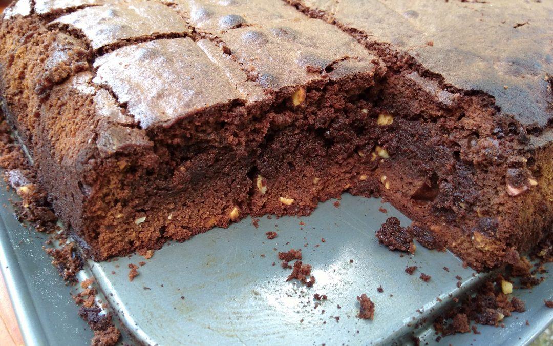 Brownies mit Cashewkernen